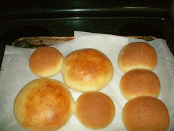 beautiful burger buns...from king arthur