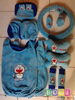 bantal mobil car set 8 in 1 boneka doraemon