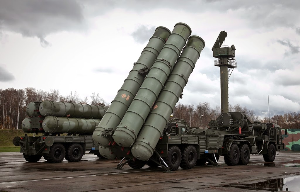 Russian made surface to air missile system