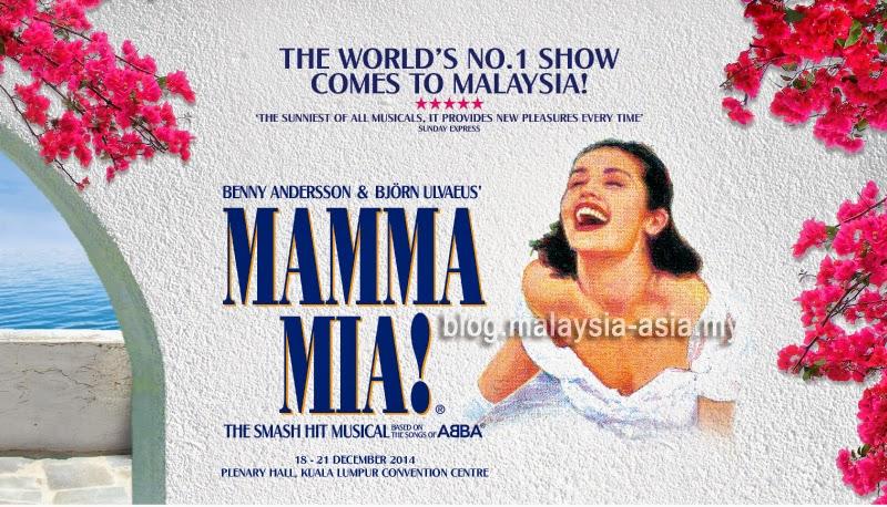 Mamma Mia The Musical Malaysia 2014