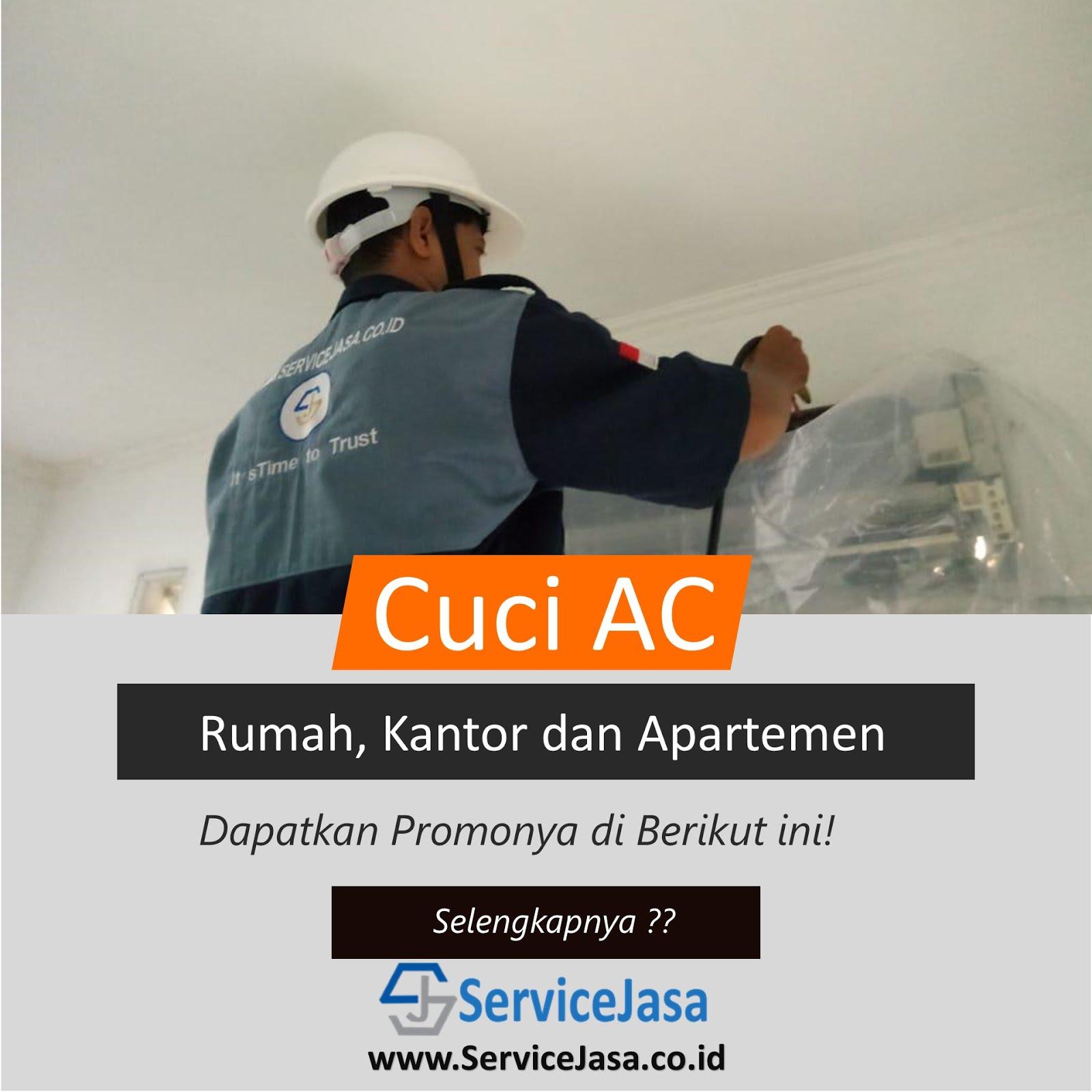 Layanan Cuci & Service AC