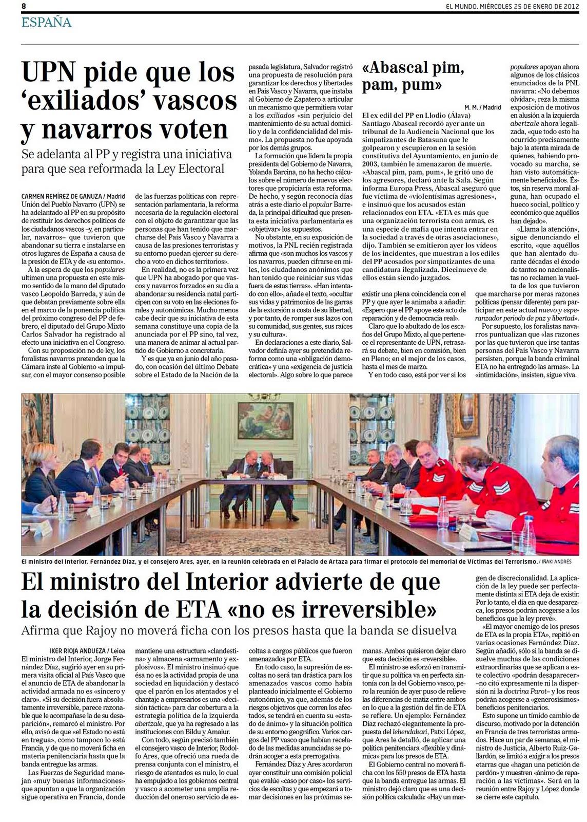 El PP inicia la resurrección de España resucitando a Montesquieu