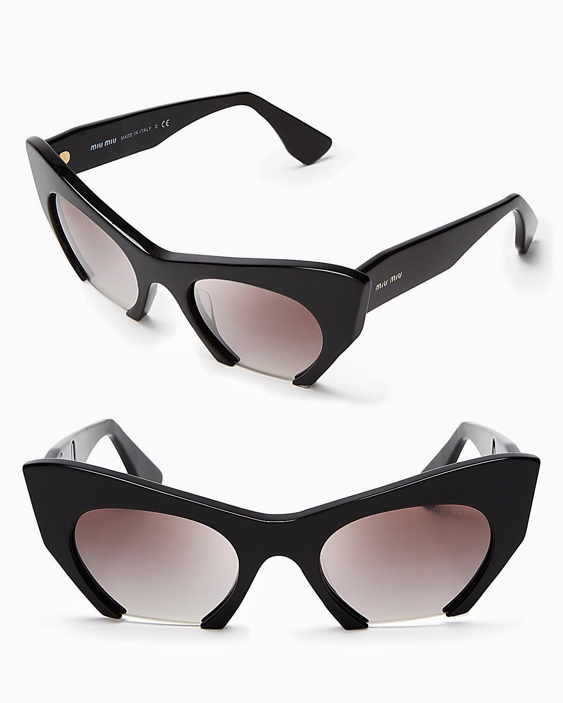 fd020285ebd Miu Miu Cat Eye Sunglasses « One More Soul