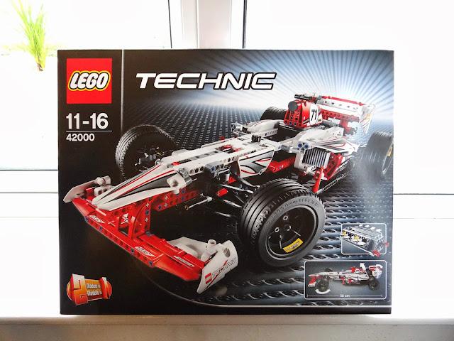 LEGO Technic Grand Prix Racer, Racing car, build a racing car