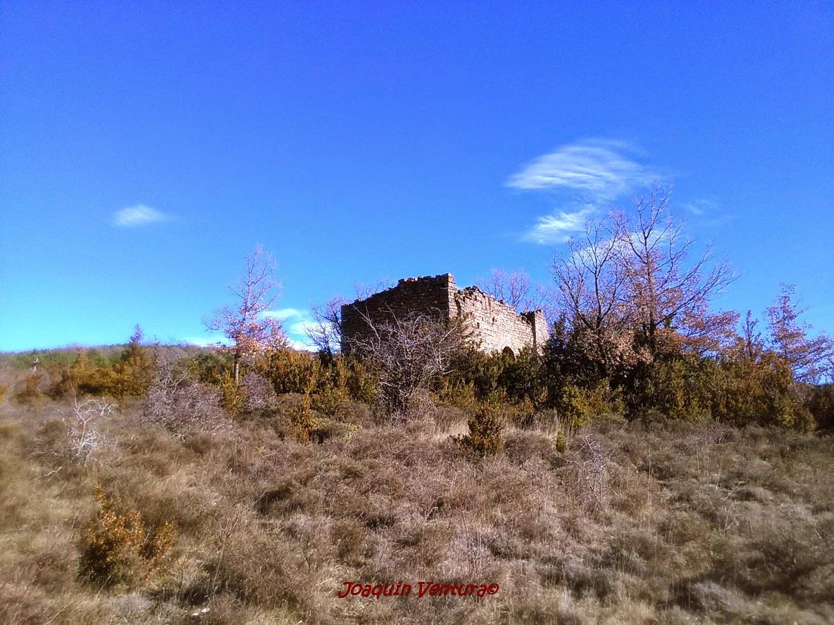 Ermita de Santa María de Trujillo en Castiello de Jaca (Huesca)