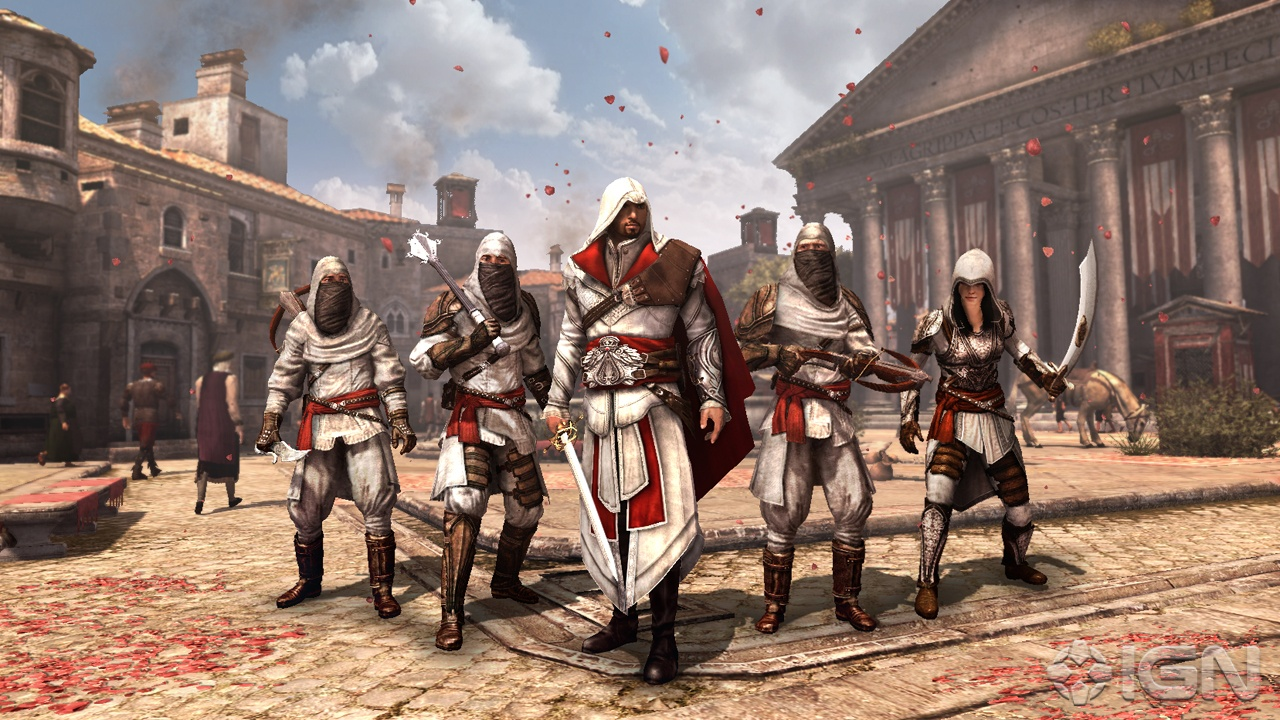 Análisis  Assassins Creed Brotherhood