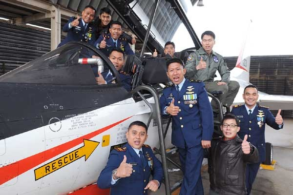 Penerbang TNI AU mengikuti pelatihan Penerbangan Pesawat Latih Tempur T-50