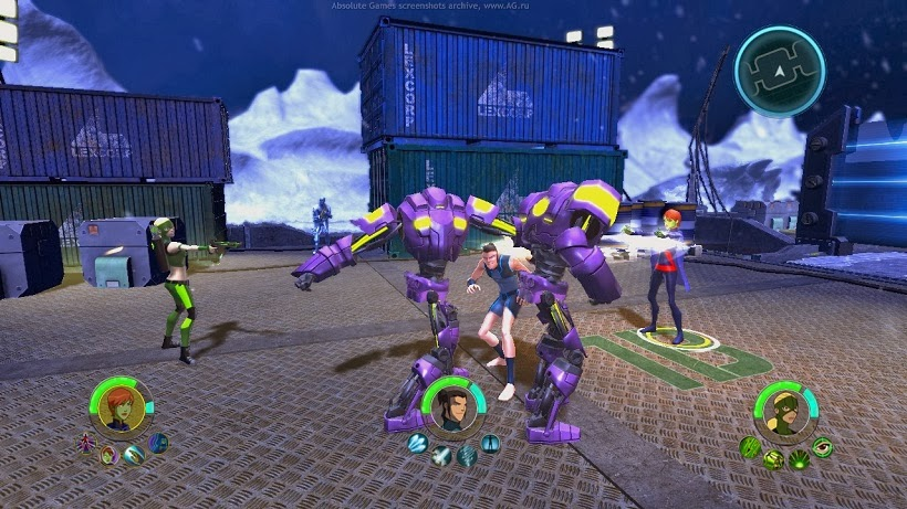 Screen Shot Of Young Justice Legacy (2013) Full PC Game Free Download At Downloadingzoo.Com