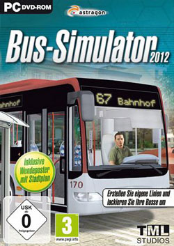 Poster bus Download – Jogo Bus Simulator 2012 – JAGUAR PC (2012)