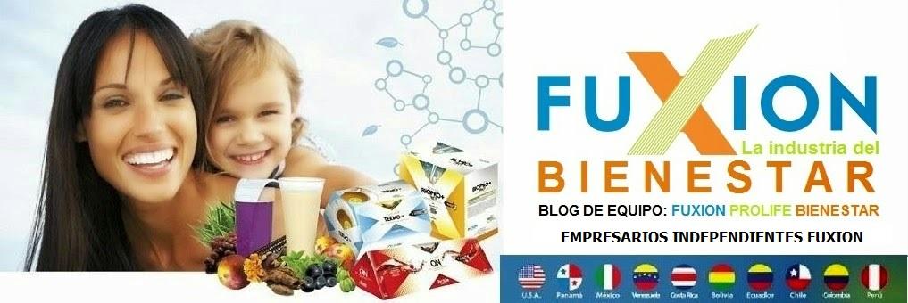 FuXion Xpande Bienestar- Productos 100% naturales