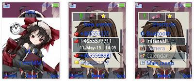 「丹特麗安的書架」SonyEricsson手機主題for Elm/Hazel/Yari/W20﹝240x320﹞