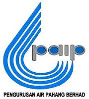 Jawatan Kerja Kosong Pengurusan Air Pahang Berhad (PAIP)