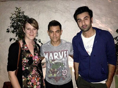Aamir, Ranbir, Katrina spotted dining together