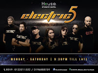 Adza Rina @ ELECTRIC 5 BAND