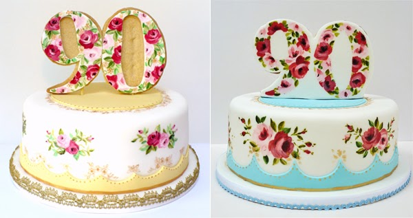 Cake Decorating Ideas For A 90 Year Old : Amelie s House: Some old favourites