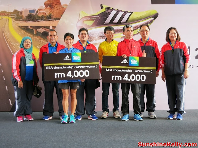 adidas Malaysia, King Of The Road 2013, winners, runners, marathon, Run, race, sunway pyramid, adidas, kotr