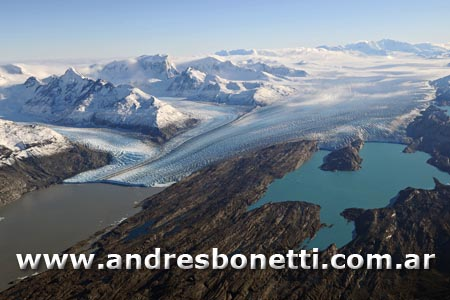 Glaciar Upsala - Upsala Glacier - Parque Nacional los Glaciares - Los Glaciares National Park - Patagonia - Andrés Bonetti
