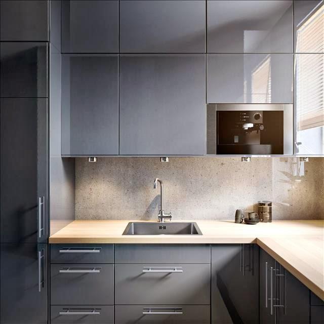 Encimeras y paneles frontales todo sobre las nuevas - Paneles para cocina ...
