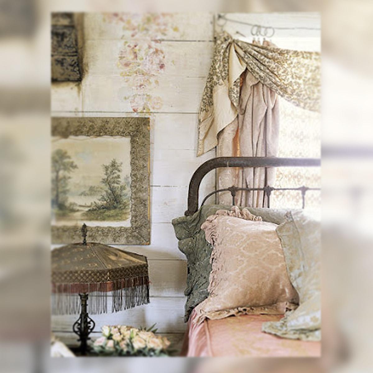 Decoracion shabby de cuento de hadas la musa decoraci n - Dormitorio shabby chic ...