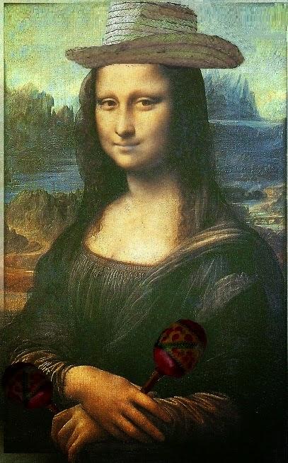 Mona Lisa de vacaciones en Cuba