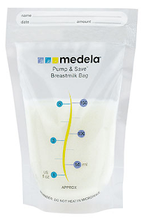 MEDELA Pump Save Milk Bags 20pcs
