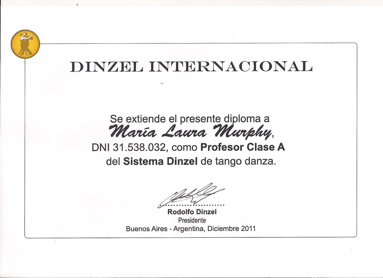 DINZEL INTERNACIONAL