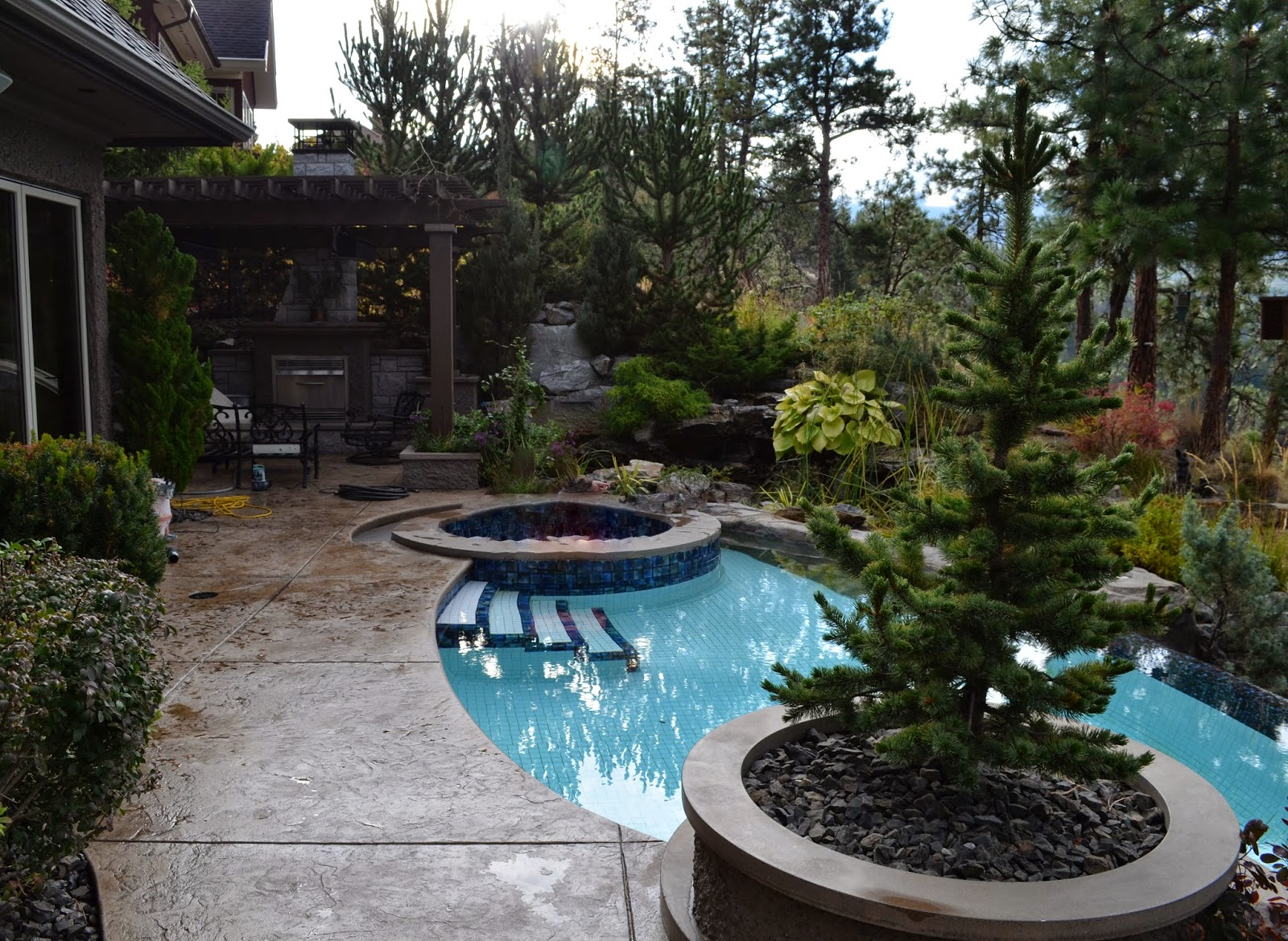 Sealing exposed aggregate pool deck - Stamped Concrete Maintenance Repair And Sealing Blog By Concrete Experts Mode Concrete In Kelowna Bc