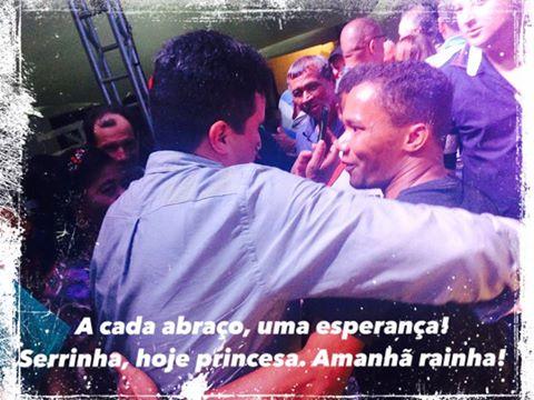 """Adriano Lima:""""Desejo a todos uma semana abençoada. Deus proteja cada um de vocês. Abraços!"""""""