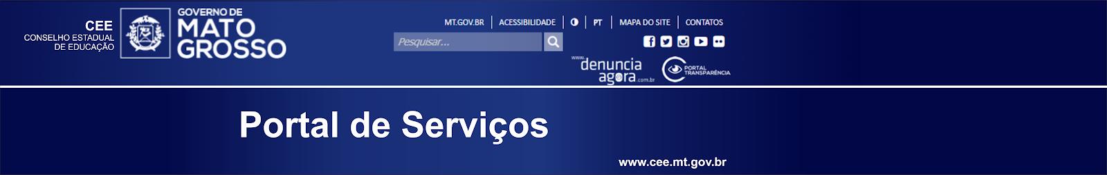 Portal de Serviços CEE/MT