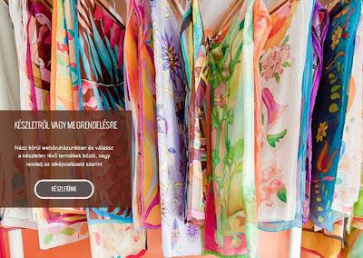 Egyedi ajándék nőknek: kézzel festett selyem kendők, sálak