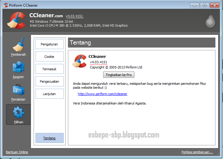 Download ccleaner bagas31 terbaru