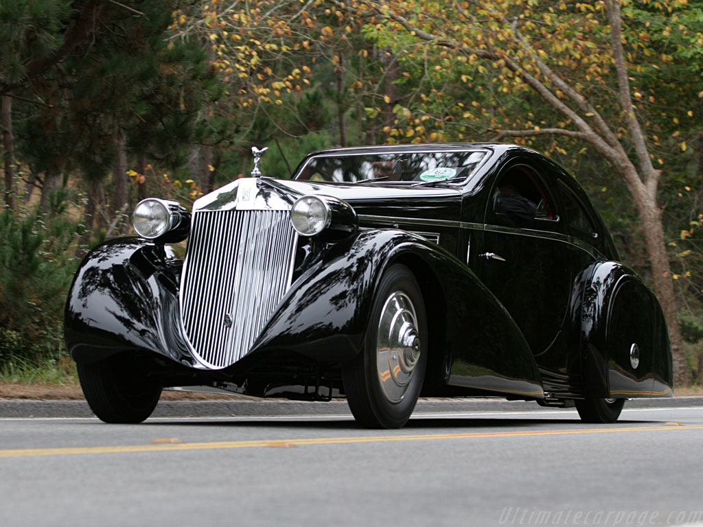 FAB WHEELS DIGEST (F.W.D.): 1935 Rolls-Royce Phantom I ...