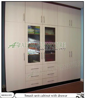 Lemari baju kabinet unit minimalis Smash | www.alliafurniture.com