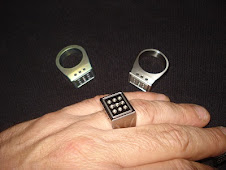 Titanium Rings w/ Self Lighting Gas Vials