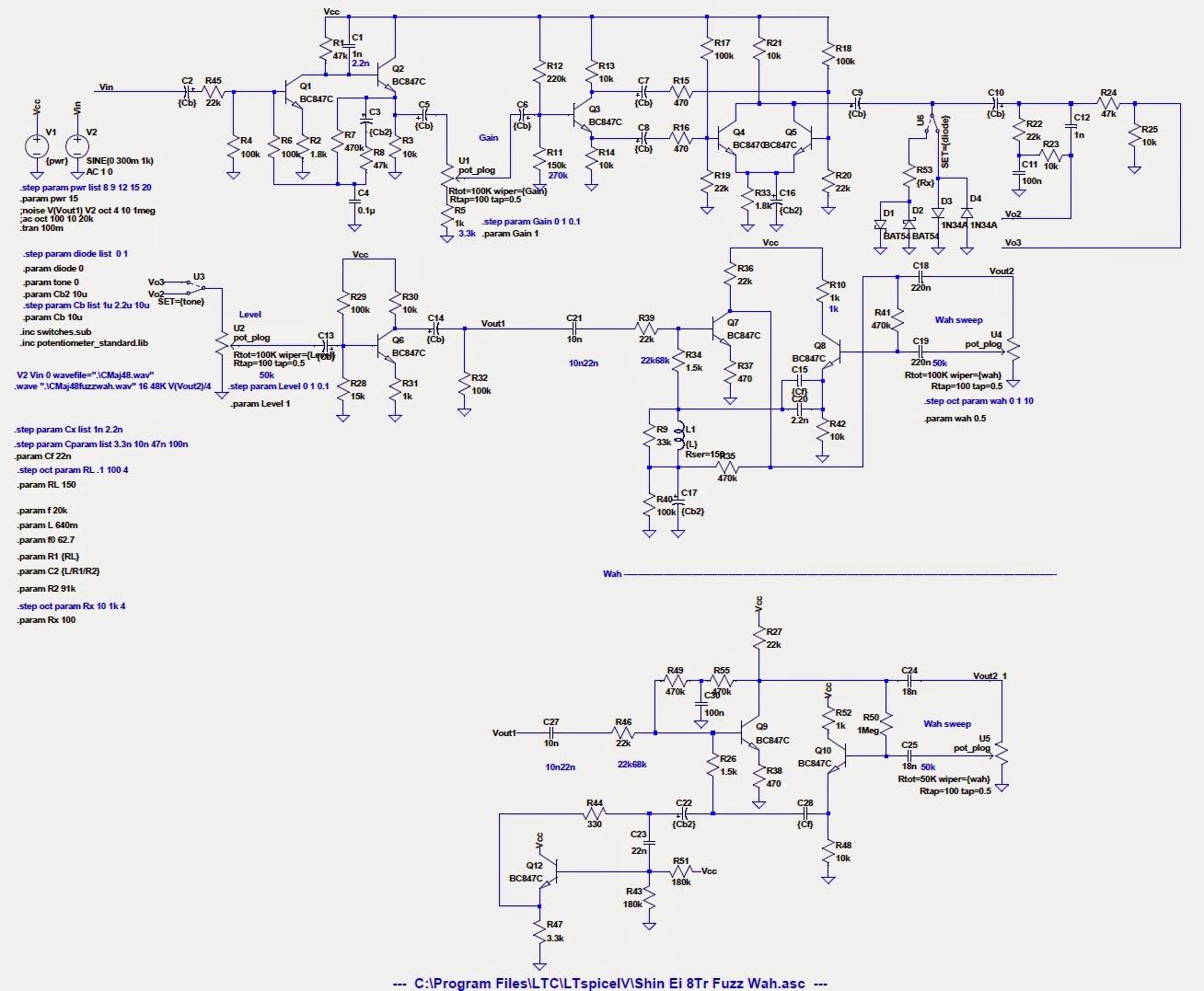 LTSpice Schematics