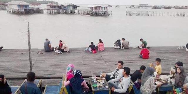 Wisata Bontang Kuala Kampung Di Atas Laut