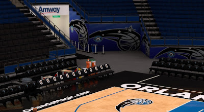 2K Magic Stadium, Arena, Floor Patch