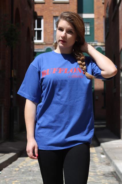 Bufflone Athletic blue t-shirt