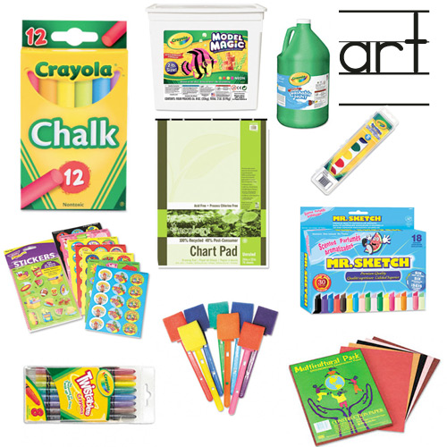 Art time with kristy miller for Arts and crafts supplies online