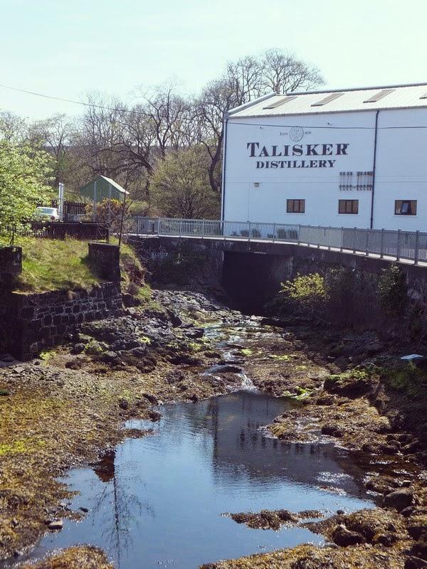 écosse scotland skye highlands talisker distillery