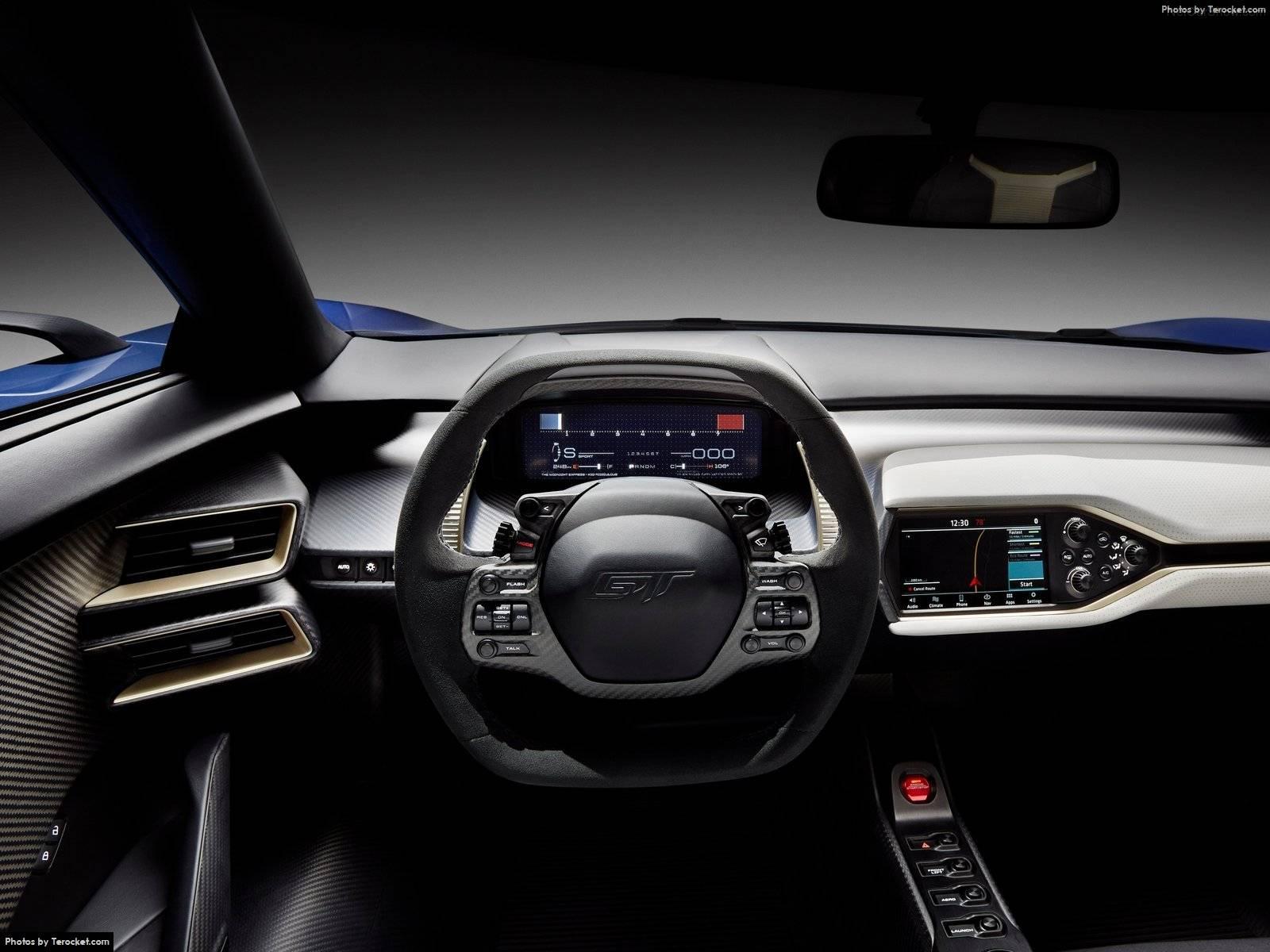 Hình ảnh xe ô tô Ford GT 2017 & nội ngoại thất