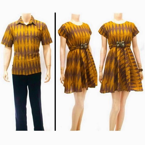 Dress Pasangan Motif Rang Rang
