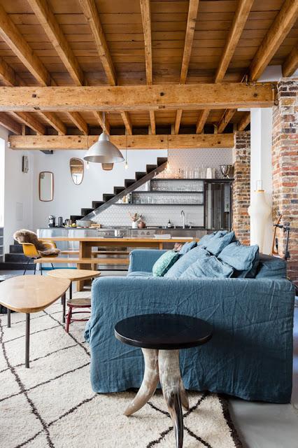 Deco: appart cozy à Montmartre