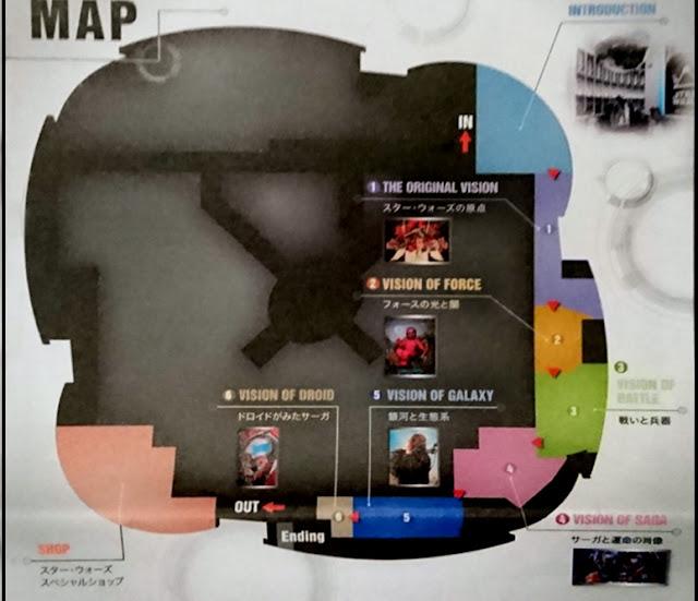 Star Wars Visions Tokyo Map