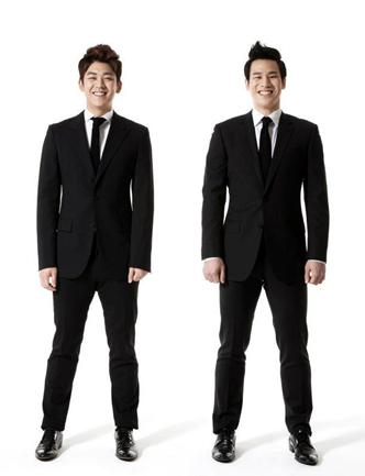 Lee Yong Dae and Ko Sung Hyun