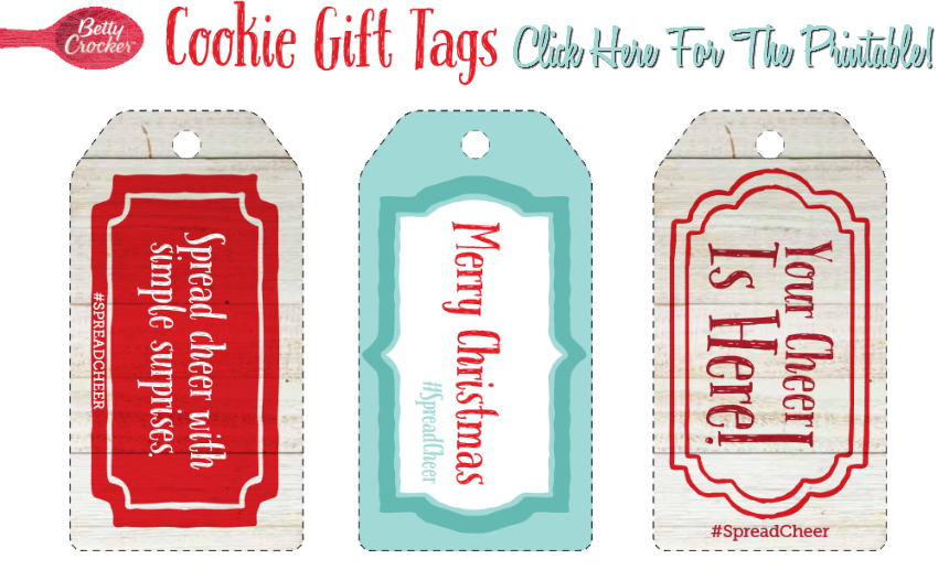 Click here for the FREE #SpreadCheer Printables! (ad)