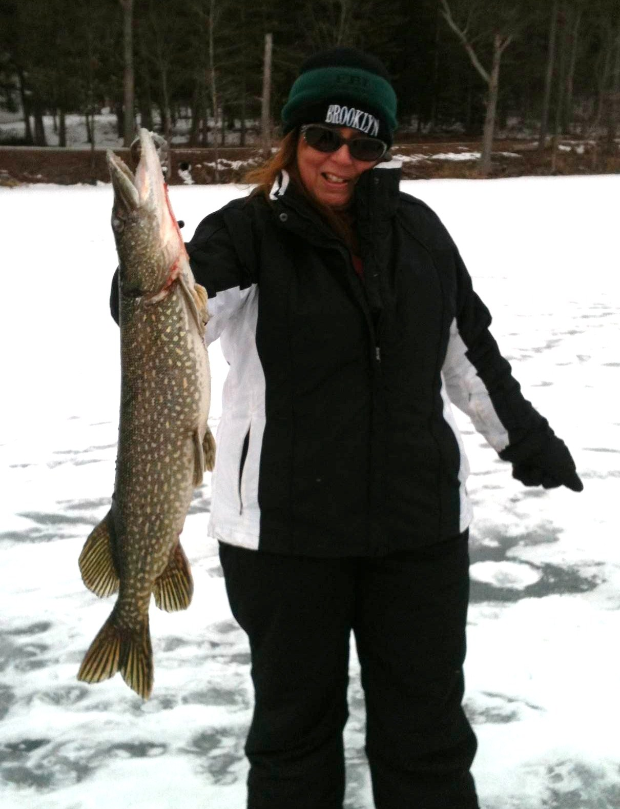 Guided Vermont Ice Fishing Trips Southern Vermont Pike