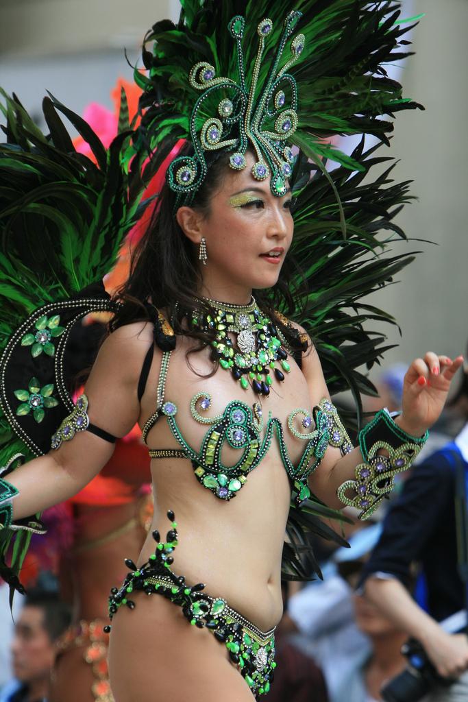 Annual Samba Carnival at Asakusa, Tokyo, Japan (29-Aug-2009)