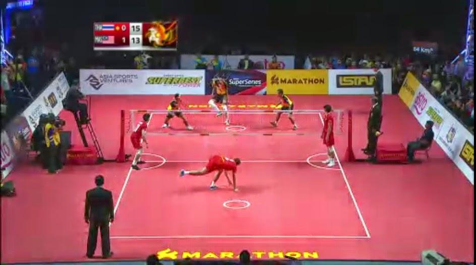 Video Penuh Malaysia vs Thailand Sepak Takraw ISTAF Super Siries Final Melaka 2015