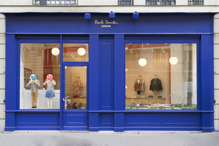 Paul Smith first Junior store in Paris